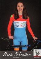 Cyclisme, Marie Schreiber - Wielrennen