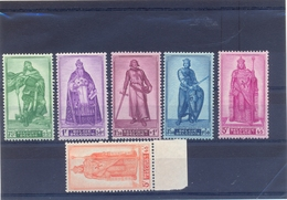 Nrs. 737/742 Postgaaf ** MNH Zeer Mooi - Bélgica