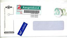 Lettre Recommandée Amsterdam Sur Reine Entete Atelier Photo - Poststempel - Freistempel