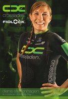 Cyclisme, Diana Steffenhagen, Format 21 X 15 Cm - Wielrennen