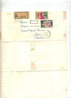 Lettre Recommandée Lion Sur Mer Sur Dunkerque Azur - Poststempel (Briefe)
