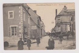 CP CHEMILLE SUR DESME Rue Principale.. Carte Rare - France