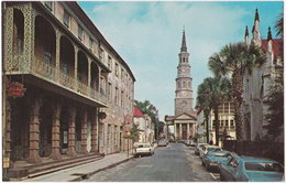 Pf. CHARLESTON. Along Church Street - Charleston