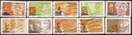 Oblitération Moderne Sur Adhésif De France N°  104 à 113 - Art, Antiquités - Egyptiennes, Romaines, Grecques - Oblitérés