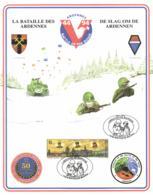 Belgium 1994 COB 2571 Commemoration Card Fonds Roman 18-12-1994, WWII Liberation Bastogne Ardennes Battle Of The Bulge - WW2