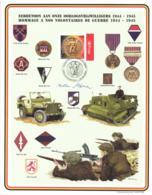 Belgium 2004 COB 3311 Commemoration Card Fonds Roman 25-9-2004, Tribute To The War Volunteers 1944-1945 - Souvenir Cards