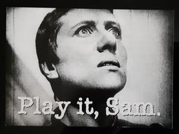 Play It, Sam Carte Postale - Advertising