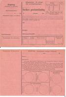 Sweden Inrikes Postanvisning / Domestic Money Order  -  Mint - Non Classificati