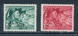 Deutsches Reich 684/85 ** Mi. 40,- - Germania