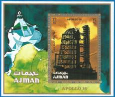 Ajman 1971 Year, Used Block Space - Ajman