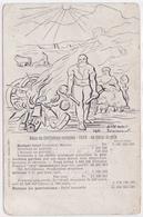 Cpa -anti Militaria-bilan Du Cretinisme Europeen-pas Sur Delc.-leon Berchtold 1901-pacifisme - Militaria