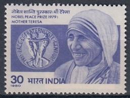 INDIA 837,unused,mother Teresa - Mutter Teresa