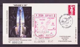 ESPACE - ARIANE Vol Du 1990/01 V35 - CSG - 1 Document - Europa