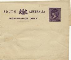 AUSTRALIA / SOUTH AUSTRALIA    -    WRAPPER , Streifband  -  NEWSPAPER ONLY - 1855-1912 South Australia