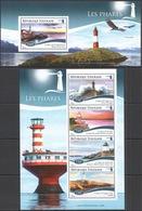 Phare Lighthouse Vuurtoren Leuchttürme Faro Fari TOGO 2014 NEUF** MNH - Faros