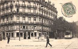 76 - Le Havre - Le Credit Lyonnais (animée Tram Tramway 1906) - Altri