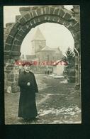 ORIGINAL Foto-AK WK1, Hesse, Saarebourg, Hessen Bei Saarburg, Kirche Und Pfarrer? Ungelaufen - Autres Communes
