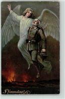 53142323 - Gefallener Soldat Mit Engel - War 1914-18