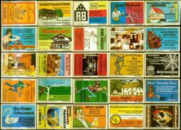 300 Alte Gasthausetiketten Aus Deutschland #1 - Luciferdozen - Etiketten