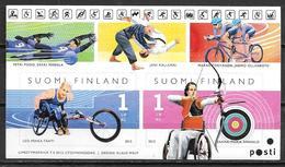 Finlande 2012 Bloc Neuf Avec N°2151/2152 Jeux Paralympique D'été - Neufs