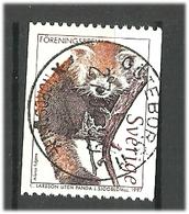 "Sweden 1997 Animals From The Nature Reserve ""Nordische Arche"", Hunnebostrand. Small Panda, Mi 2009 Cancelled(o) - Gebruikt"