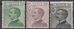 ITALIA - 1925/1927 - Lotto Composto Da 3valori Nuovi MH: Yvert 178, 179 E 181. - 1900-44 Victor Emmanuel III.