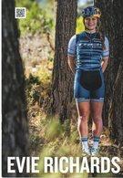 Cyclisme, Evie Richards, Format 21 X 15 Cm - Wielrennen