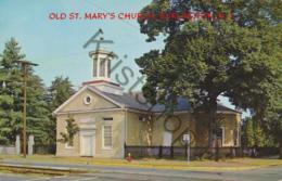 Burlington- NJ - Old St. Mary's Church  [5H-018 - Burlington