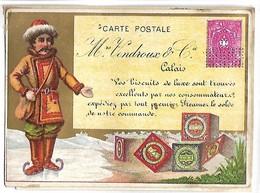 CHROMO - Biscuits VENDROUX - Calais - Vendroux