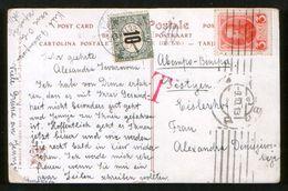 Russia 1913 Postcard Kiev - Pöstyen (Pistyan), Pay Extra, Porto - Covers & Documents