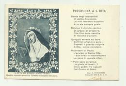 S.RITA DA CASCIA AGOSTINIANA - PREGHIERA A S.RITA - NV  FP - Perugia