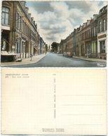 AK Armentieres, Rue Sadi Carnot, Geschäfte, Auto - Armentieres