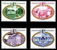 LIECHTENSTEIN 1977 Nr 680-683 Postfrisch SB46042 - Liechtenstein