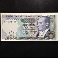 Turkey, 10000 Lira, 1970 - Turkije