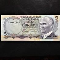 Turkey, 5 Lira, 1970 - Turkije