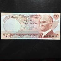 Turkey, 20 Lira, 1970 - Turkije