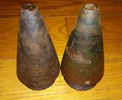Rare Deux Fusees Allemandes AZ De 1943 Ww2 A Voir - Armes Neutralisées