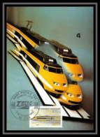4081/ Carte Maximum (card) France N°2334 Mise En Service Du TGV Postal Train - Cartes-Maximum