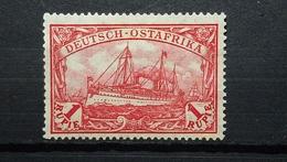 Deutsche Kolonien Ostafrika Mi-Nr.38 Ll B MH Geprüfte BPP Ungebraucht - Colonia: Africa Orientale