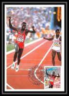 5223/ Carte Maximum (card) France N°3313 Athlétisme Carl Lewis - Maximumkaarten