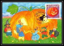 "5308/ Carte Maximum (card) France N°3428 Halloween ""Citrouille"" - Cartes-Maximum"