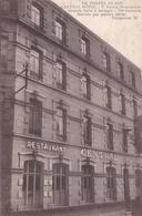 Rare ! CPA Le PORTEL PLAGE / CENTRAL HOTEL RESTAURANT / V. Picard - 2 SCANS - Le Portel