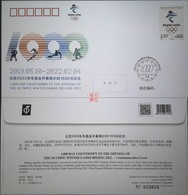 China 2019 PFTN.TY-49 1000-days Countdown The Opening Of The Olympic Winter Game Beijing 2022 Commemorative Cover - Winter 2022: Peking