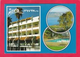 Modern Post Card Of Hotel Astoria,Tiberias, Northern, Israel,D40. - Israele