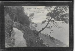 AK 0393  Lohme Auf Rügen - Waldweg Mit Durchblick Auf Die See Um 1909 - Rügen