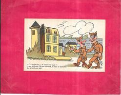 ILLUSTRATEUR LUC CYL - HUMOUR MILITAIRE - Tu Loges Ici Y A Une Belle Vue............. Qui Prend  Son Tub  - - Künstlerkarten