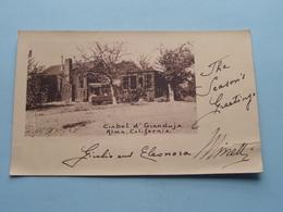 ALMA California Ciabot GIANDUJA ( Greetings Card ) Anno 19?? ( See Photo ) ! - Etats-Unis