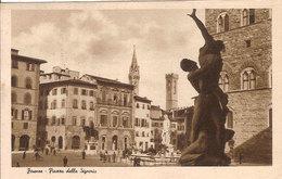 (C).Firenze.P.za Della Signoria.F.to Piccolo.Viaggiata (c18) - Firenze