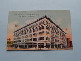 Olds WORTMAN & KING Dept. Store ( Portland Post Card C° ) Anno 19?? ( See Photo ) ! - Portland
