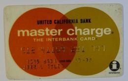 USA - Credit Card - Master Charge - United California Bank - The Interbank Card - Exp 10/76 - Used - Tarjetas De Crédito (caducidad Min 10 Años)